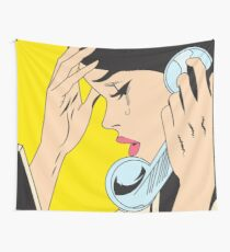 Just send chocolate! Wall Tapestry