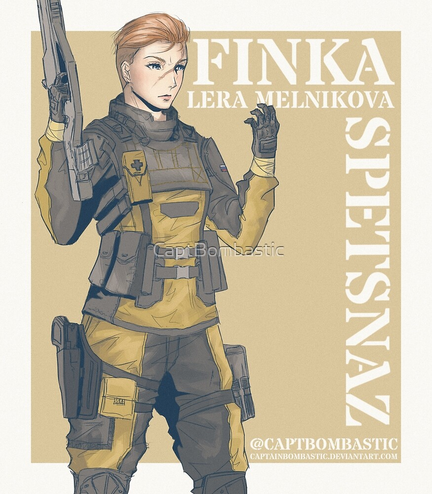 Rainbow Six - Finka by CaptBombastic