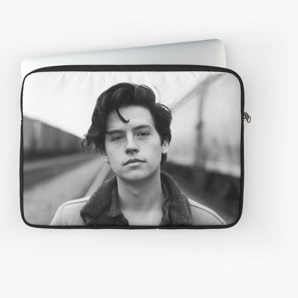 COLE SPROUSE BLACK AND WHITE Laptop Sleeve