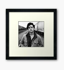 COLE SPROUSE BLACK AND WHITE Framed Print