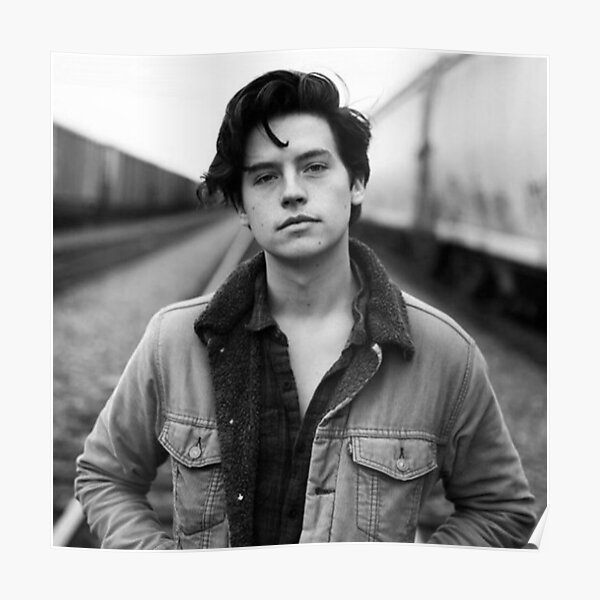 COLE SPROUSE BLACK AND WHITE Poster