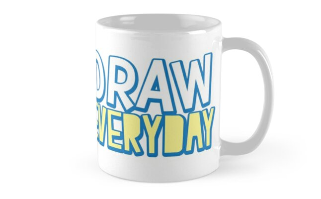 DRAW EVERYDAY by jazzydevil