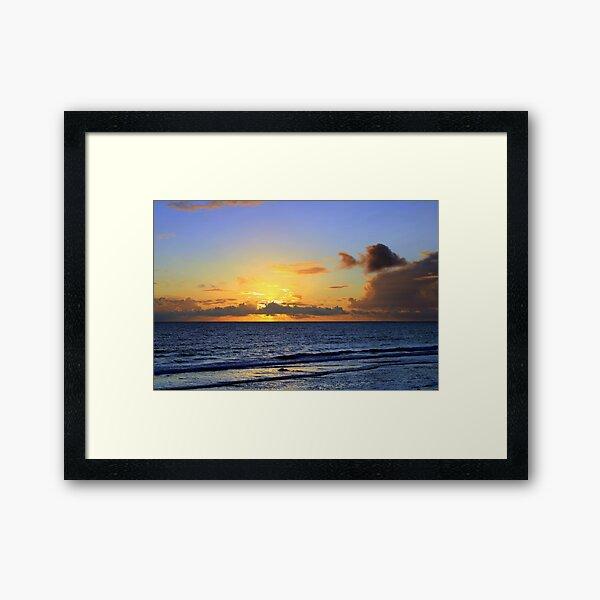 Garrynamonie Sunset 2 Framed Art Print