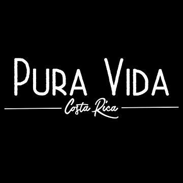 Vacation Summer Design - Pura Vida Costa Rica  by kudostees