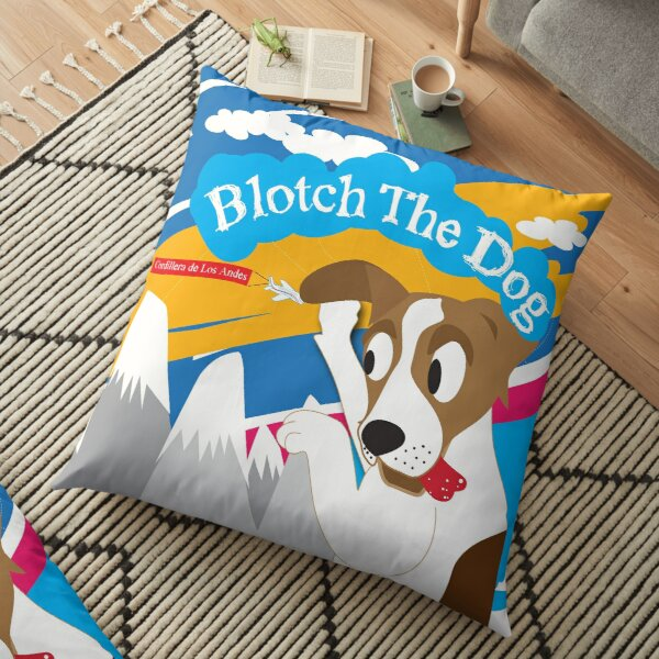 Blotch and Attis Floor Pillow