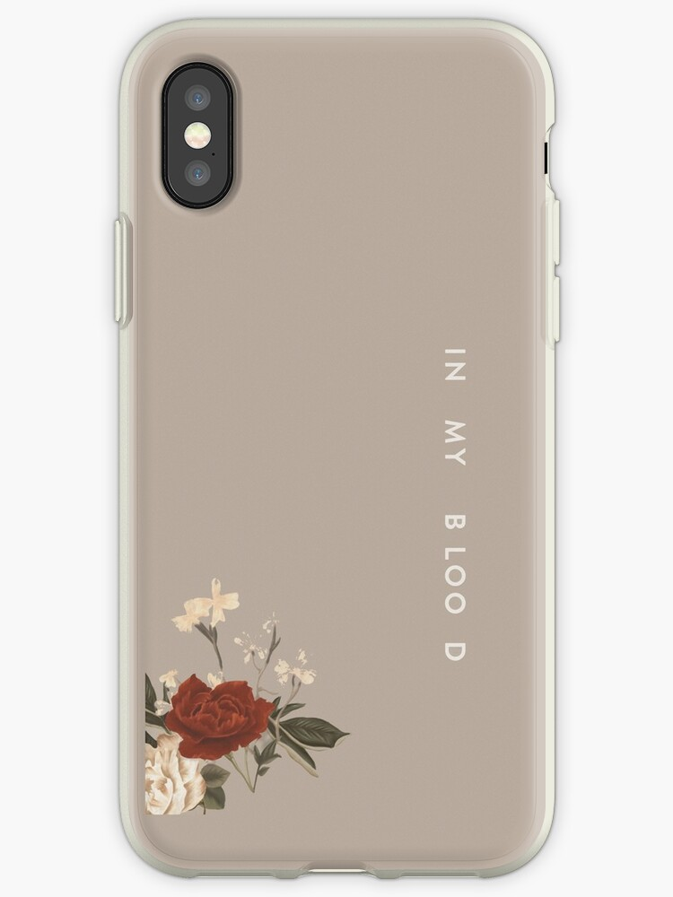 new arrival 4212b d3b95 'Shawn Mendes // In My Blood //' iPhone Case by shawnxstickers