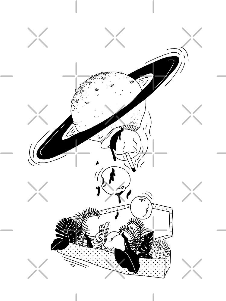Saturn by nanaminhae