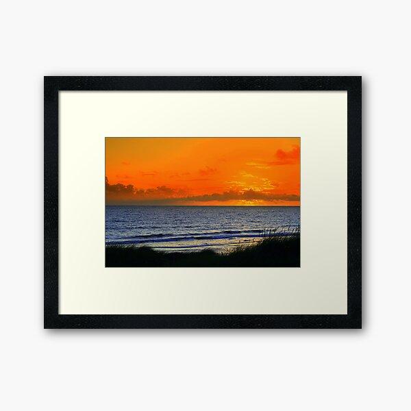 Garrynamonie Sunset 3 Framed Art Print