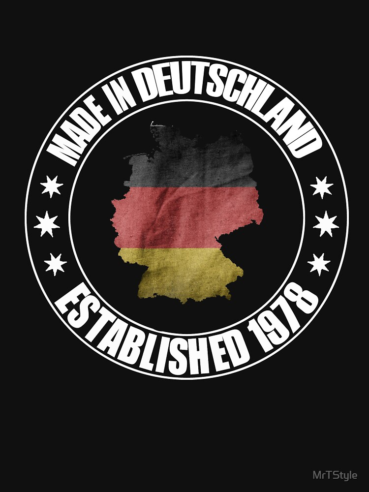 Birthday 1978 born in Germany beautiful world champion shirt as a gift by MrTStyle
