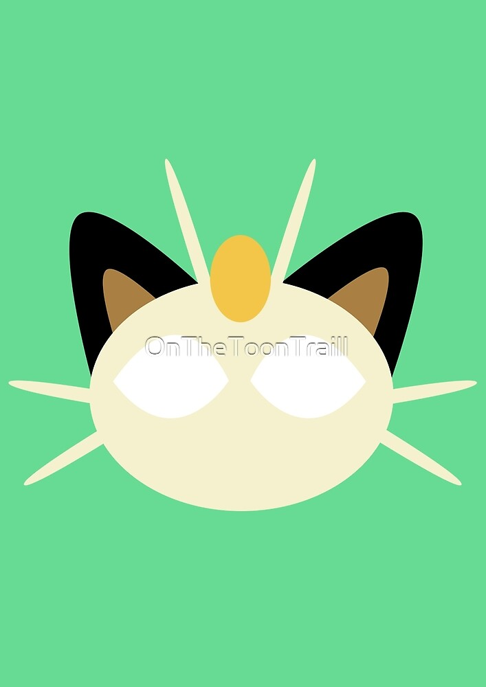 Meowth by OnTheToonTraill
