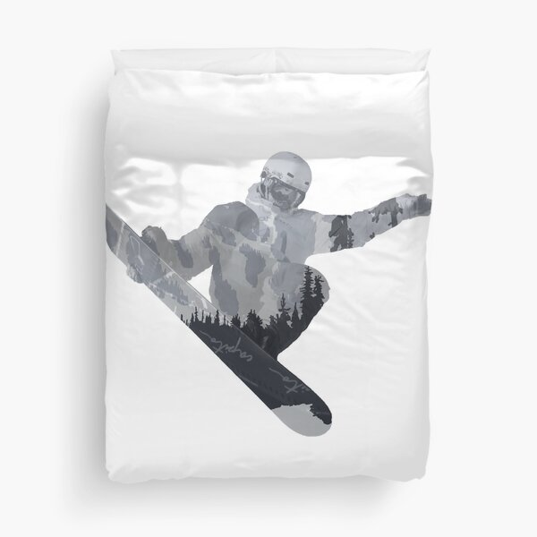 Snowboard Exposure SP | DopeyArt Duvet Cover