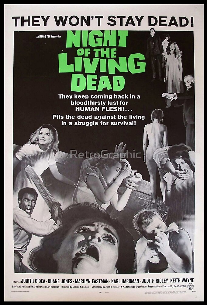 Night of the living dead by RetroGraphic