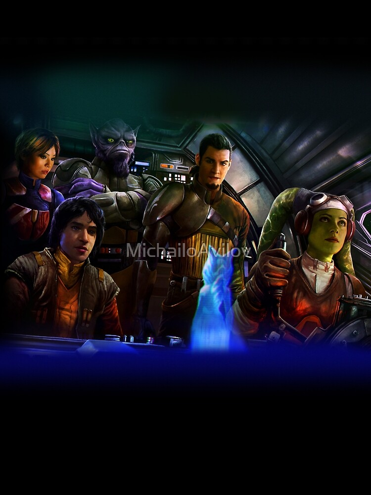 Star Wars Rebels by MichailoAvilov