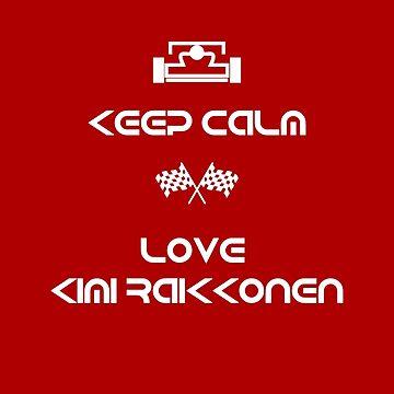 Kimi Raikkonen by 8oo8