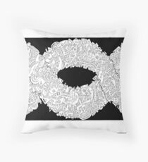 Entwinement #III Throw Pillow