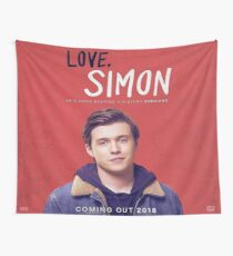 Love Simon Wall Tapestry