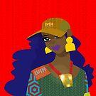 Afropunk Girl by lushkingdom