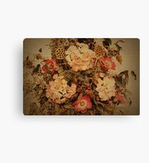 A Tapestry of Flowers Canvas Print