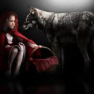 little red riding hood by Cliff Vestergaard