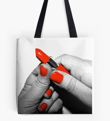 Red Lipstick - #WalkInRed2015 Tote Bag