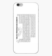 Antisèche Tableau Périodique des Elements iPhone Case