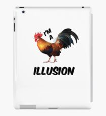 I'm a rooster illusion Shirt iPad Case/Skin