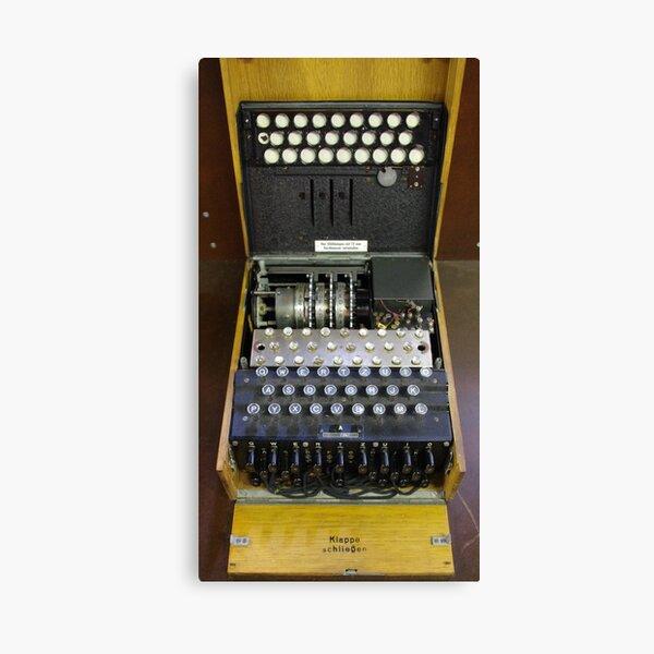 3-Rotor Enigma Machine Canvas Print