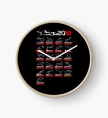 Calendar F1 2018 circuits sport Clock