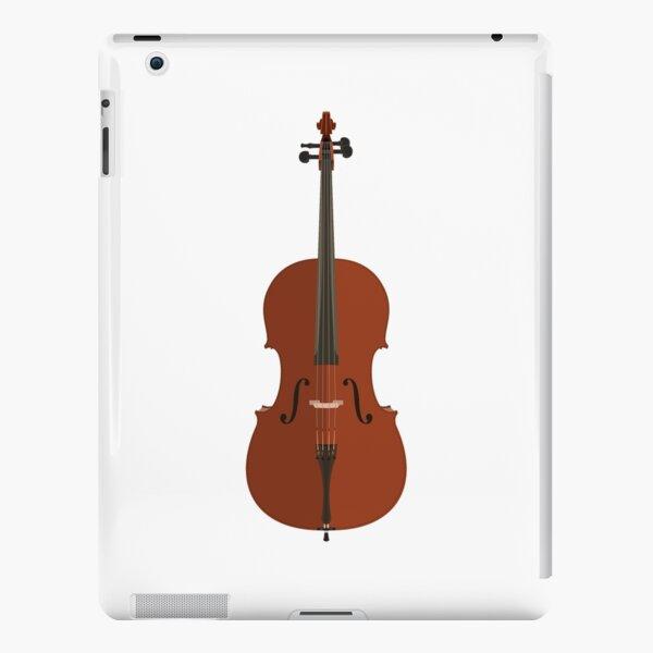 Vector flat style cello  iPad Snap Case