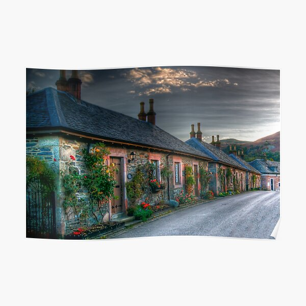 Luss Village, Loch Lomond Poster
