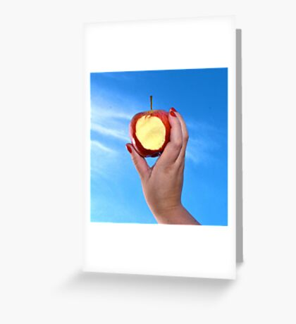 Red Apple - #WalkInRed2015 Greeting Card