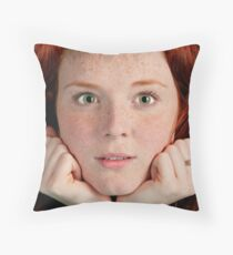 Could this be the Fresh New Face? Throw Pillow