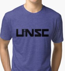 HALO UNSC Tri-blend T-Shirt