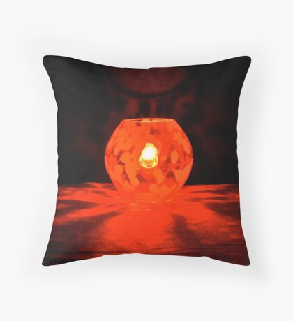 #LIUR – light it up red – #WalkInRed2015 Throw Pillow