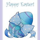 Blue Egg Easter by Mariana Musa