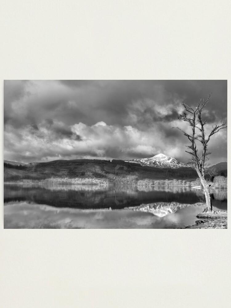 Alternate view of Loch Ard Photographic Print