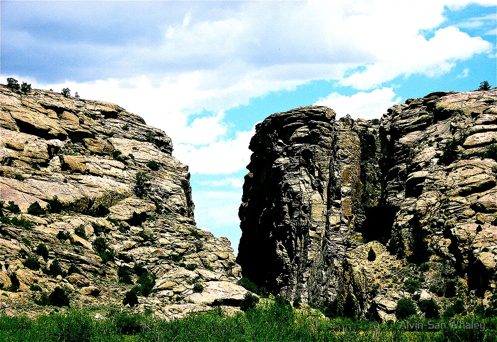 Where In Wyoming? by Alvin-San Whaley