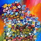 Solar flowers by Lusy Rozumna