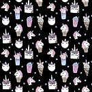 magical unicorn foods cakes cupcakes icecream cones with unicorns by Andrea Lauren