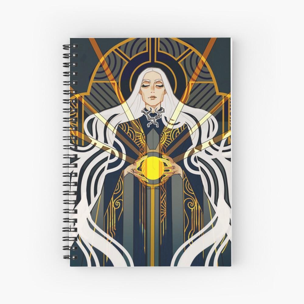 Sun Summoner Spiral Notebook