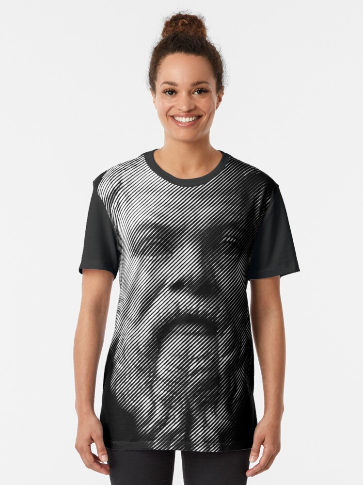 Alternate view of Socrates,     philosopher  Graphic T-Shirt