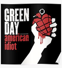 American Idiot Album Cover Poster