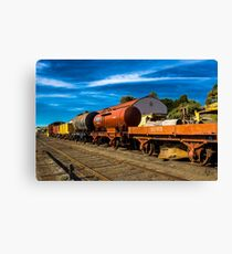 Railway Rolling Stock Canvas Print