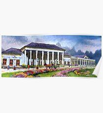 Germany Baden-Baden Casino Poster