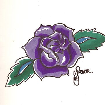Rose 1 by MSpen