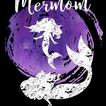 MERMOM - Mermaid Mom  by TAZUZU