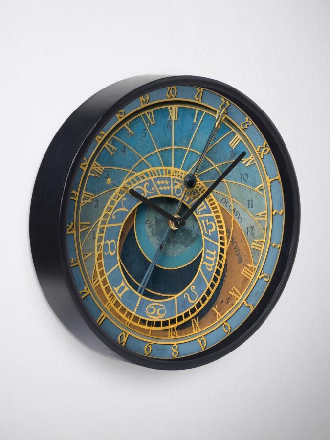 Alternate view of Stunning Medieval Astronomical Clock or Praha Orloj in Prague / Praha – Professional Photo Clock