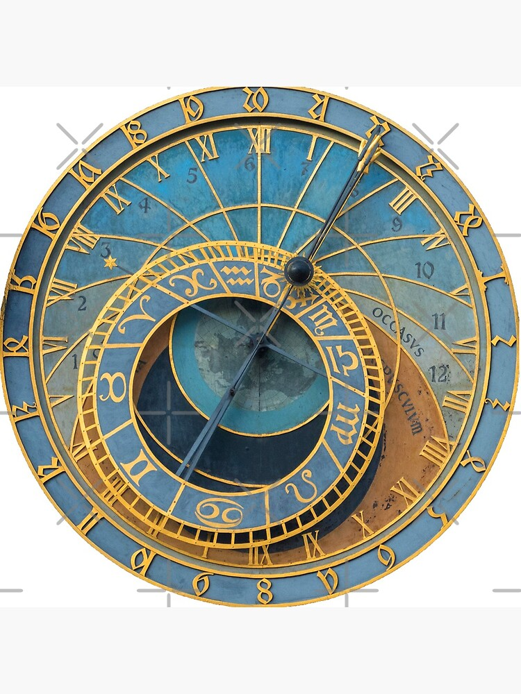 Stunning Medieval Astronomical Clock or Praha Orloj in Prague / Praha – Professional Photo by Picturestation
