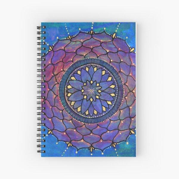 Devotion Mandala Spiral Notebook