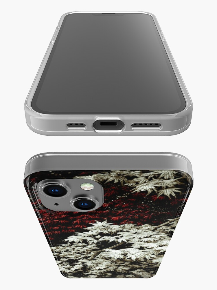 Alternate view of Japanese Maples iPhone Case